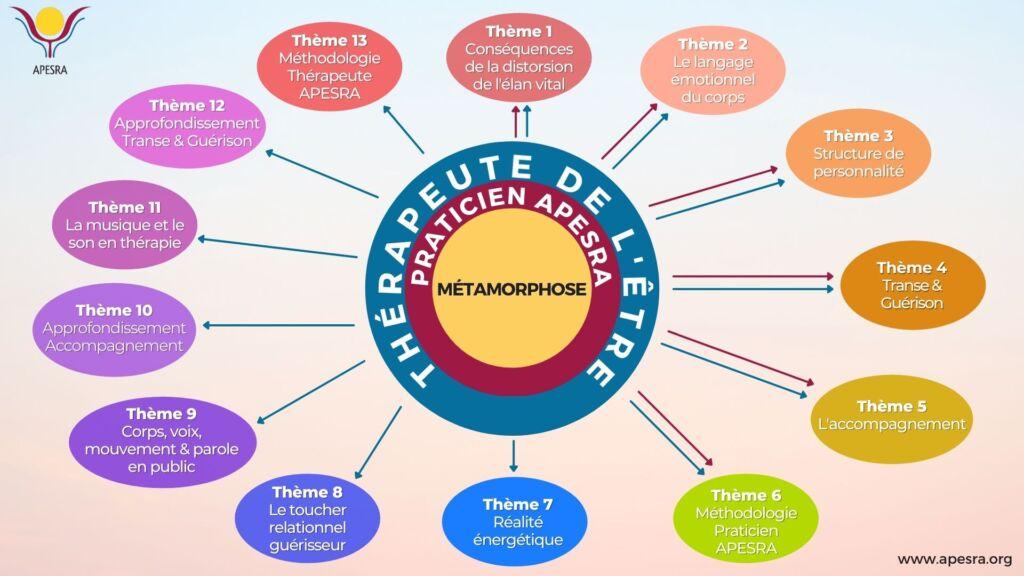 Programme Praticien APESRA - Thérapeute de l'Être